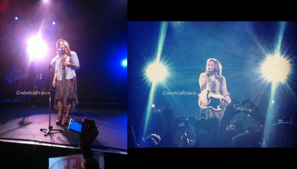 18.04.12 : A Special Night With Demi Lovato : Rio De Janeiro, Brésil.