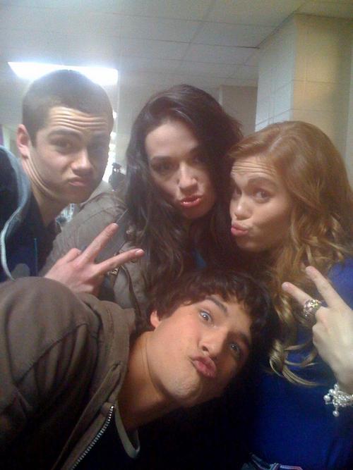 Stiles , Scott , Allison & Lydia