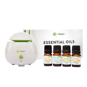 Les huiles essentiels et le diffuseur 100% naturel