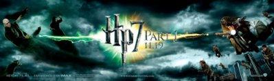Les affiches Harry Potter 7 Anglaises