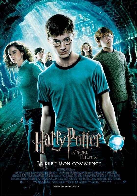 Harry Potter et l'ordre du phoenix sur Tf1