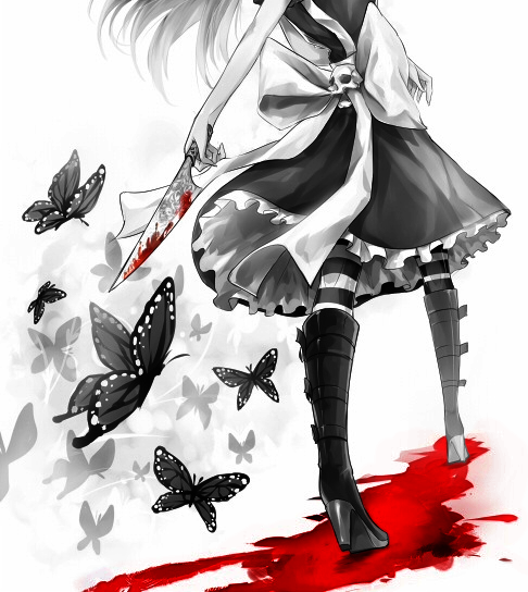 Alice retour au pays de le folie blog de japanese buterfly for Imagenes de anime gore