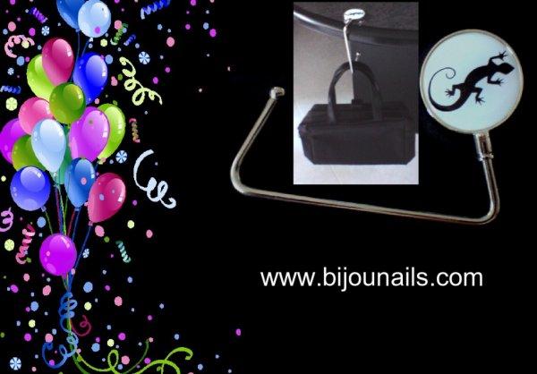 Accessoires de Mode , Accroche-sac , bijounails.com
