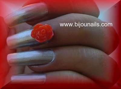 Fleurs 3D, bijounails.com