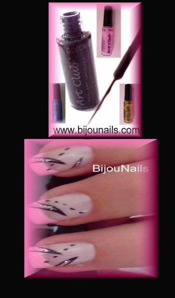 Liners Art Club , Nail Art , www.bijounails.com