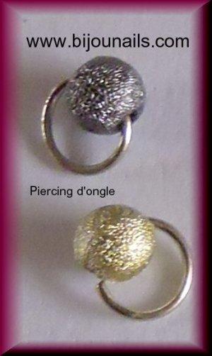 Nouveaux piercings d'ongle, lot , www.bijounails.com
