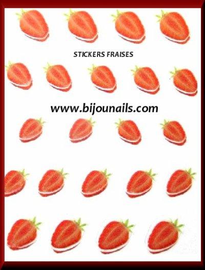 En lot , stickers fruits www.bijounails.com