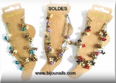 SOLDES -30% CHAINE CHEVILLE www.bijounails.com