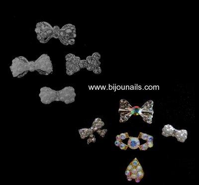 Lots bijoux d'ongle www.bijounails.com