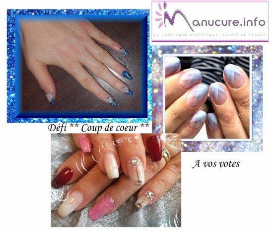A vos votes , Défi ** Coup de coeur ** Forum Manucure.info