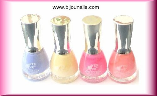 Lot Vernis à ongles Yes Love www.bijounails.com