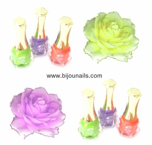 Lot 3 vernis à ongles Flashy www.bijounails.com