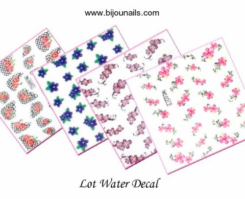 Lot Water decal www.bijounails.com