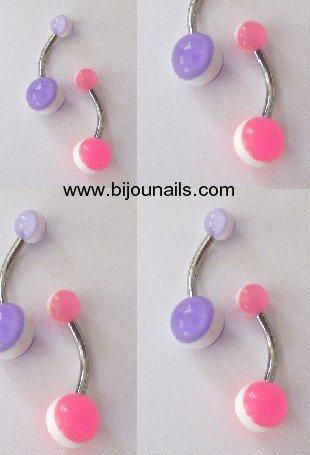 PIERCING NOMBRIL www.bijounails.com