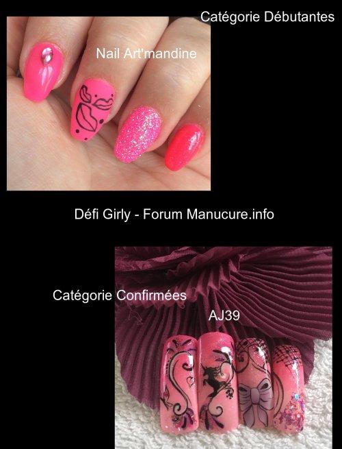 Résultat Défi Girly , Forum Manucure.info