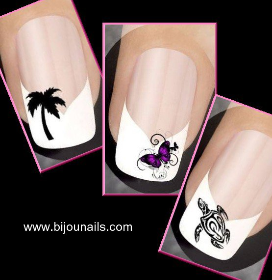 STICKERS , divers modèles www.bijounails.com