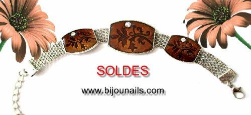 SOLDES , bracelet -30% www.bijounails.com