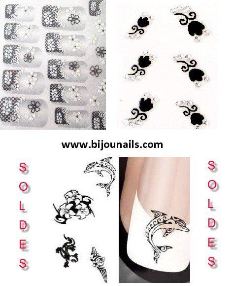STICKERS , SOLDES www.bijounails.com