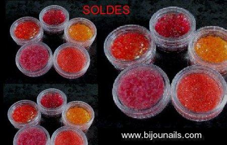 SOLDES , lot décorations Nail Art www.bijounails.com