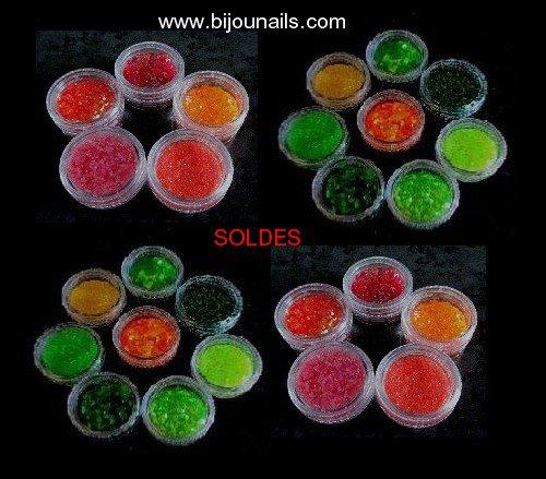 Lots décorations Nail Art - SOLDES www.bijounails.com