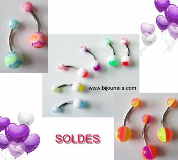 PIERCING NOMBRIL , SOLDES www.bijounails.com