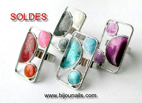 Bagues réglables , SOLDES www.bijounails.com
