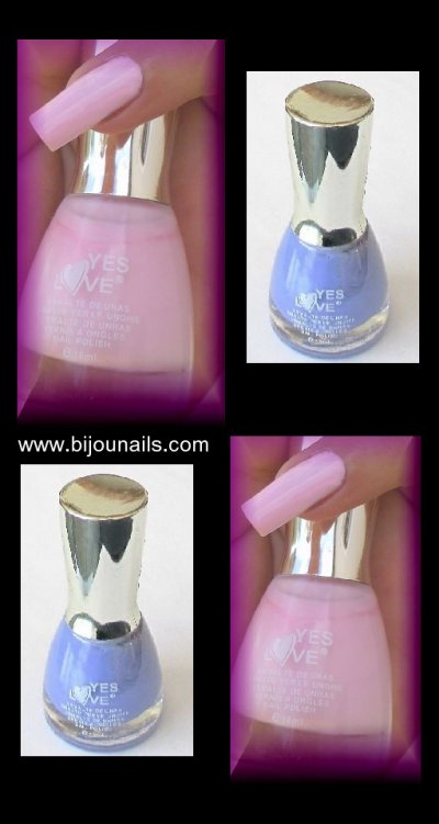 Vernis à ongles Yes Love www.bijounails.com