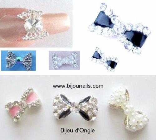 Bijoux d'ongle , divers modèles www.bijounails.com