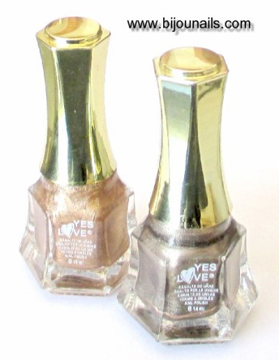 Nouveauté , Duo Vernis à ongles marron métal www.bijounails.com