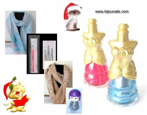 Nouveautés , idées cadeau www.bijounails.com