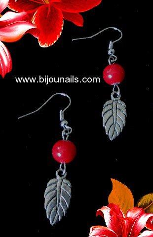 Boucles d'oreilles www.bijounails.com