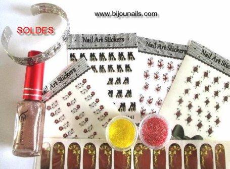 LOT DIVERS SOLDES www.bijounails.com