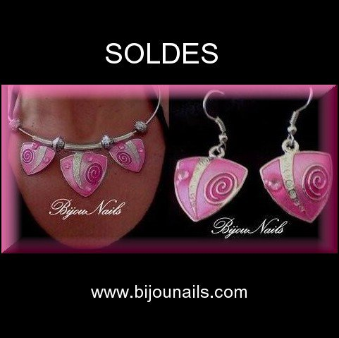 Parure , SOLDES , -40% www.bijounails.com