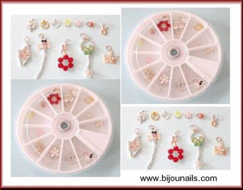 Nouveauté , carrousel piercings d'ongle www.bijounails.com
