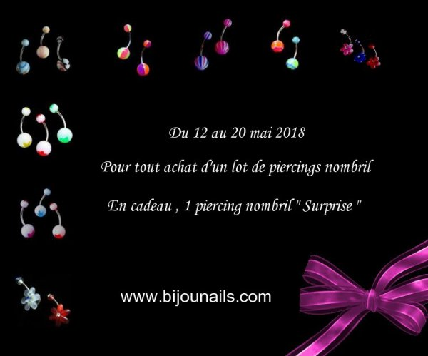 Du 12 au 20 mai 2018 www.bijounails.com