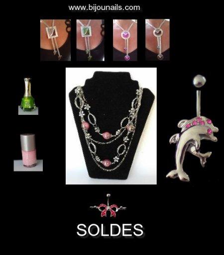 SOLDES D'ETE www.bijounails.com