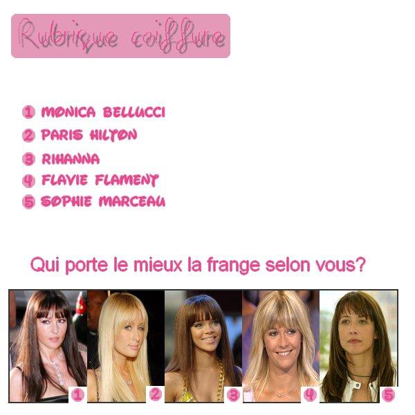 Rubrique coiffure 01