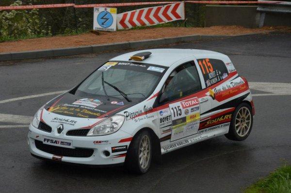 Rallye Lyon Charbonnière 2013