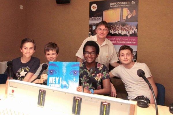 Les Petits Chanteurs d'Asnières- Photo studio 2  - 2015
