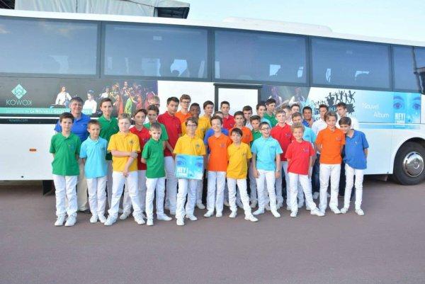 Les Petits Chanteurs d'Asnières - Tournée 2015