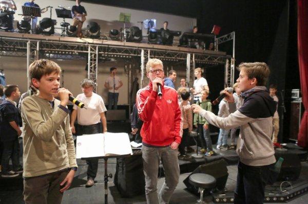 Les Petits Chanteurs d'Asnières - Répétition GALA 2015