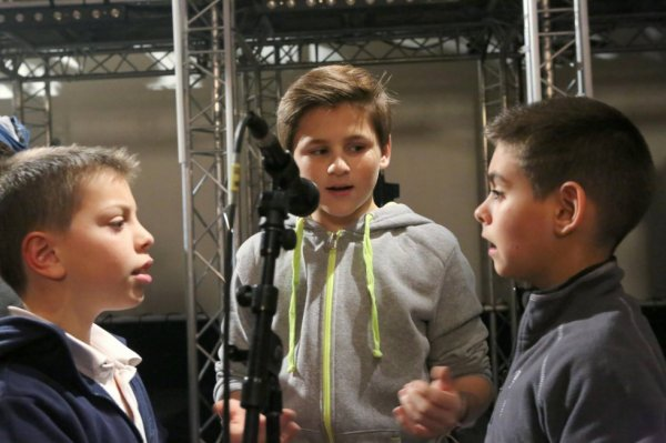 Les Petits Chanteurs d'Asnières - GALA 2015 - Répétitions