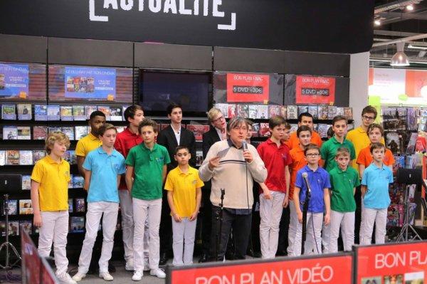Les Petits Chanteurs d'Asnières & les POPPYS  - opération promotionnelle  FNAC