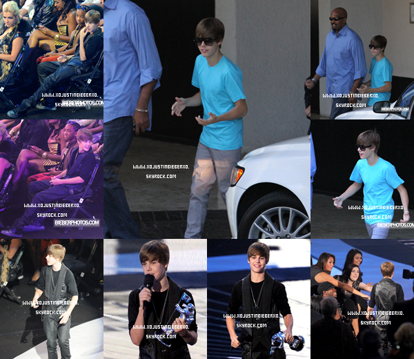 .Ce 12 septembre Justin à  MTV Music Video Awards 2010.