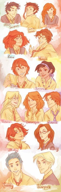 A very Weasley family