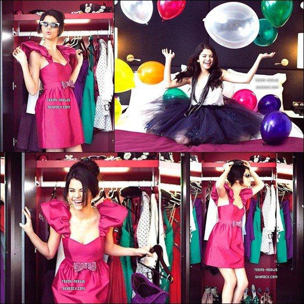 04/01/2010 - Photoshoot magnifique du tournage que selena a fait pour le magazine français GALA !