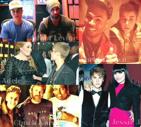 Les stars que Justin Bieber et les One Direction ont eu la chance de rencontrer!