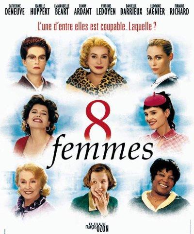 8 femmes ; réalisé par François Ozon