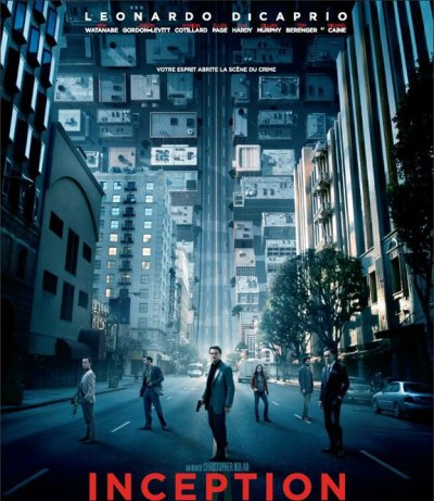 Inception ; réalisé par Christopher Nolan