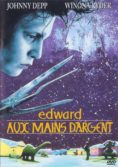 Edward aux mains d'argent ; réalisé par Tim Burton